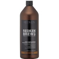 Купить Redken Brews Extra Clean Shampoo - Шампунь для интенсивного очищения, 1000 мл