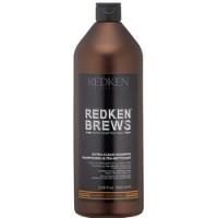 Redken Brews Extra Clean Shampoo - Шампунь для интенсивного очищения, 1000 мл