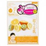 Фото Sun Smile Pure Smail Essence Mask Vitamin - Маска для лица питательная c витаминным комплексом, 1 шт