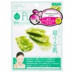 Фото Sun Smile Pure Smail Essence Mask Aloe - Маска для лица восстанавливающая с экстрактом алоэ, 1 шт