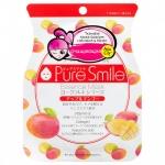 Фото Sun Smile Pure Smail Essence Mask - Маска для лица очищающая на йогуртовой основе с яблоком и манго, 1 шт