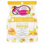 Фото Sun Smile Pure Smail Essence Mask - Маска для лица питательная на йогуртовой основе с фруктами, 1 шт