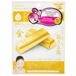 Фото Sun Smile Essence Mask Series Gold - Маска для лица антиоксидантная с коллоидным золотом, 1 шт
