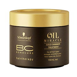 Schwarzkopf Bonacure Oil Miracle Golden Shimmer Treatment - Маска Золотое сияние 150 мл