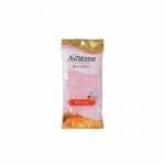 Фото Ohe - Мочалка для тела мягкая, розовая, 1 шт
