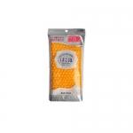 Фото Ohe - Мочалка массажная средней жесткости, желтая, 1 шт