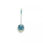 Фото Ohe - Губка для ванной, овальная, ручка 35см, 1 шт