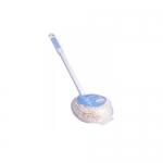 Фото Ohe - Губка для ванной круглая, ручка 35см, 1 шт
