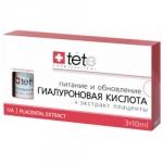 Фото Tete Cosmeceutical - Гиалуроновая кислота + Экстракт плаценты, 30 мл