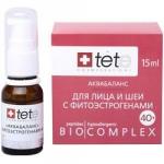 Фото Tete Cosmeceutical - Биокомплекс-аквабаланс с фитоэстрагенами 40+, 15 мл