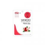 Фото Vanedo Beauty Friends - Маска для лица с розовой водой, 25 гр