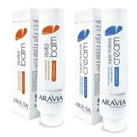 "Aravia Professional -  Восстанавливающий бальзам для ног с витаминами ""Revita Balm"", 100 мл + Суперувлажняющий крем для ног с мочевиной ""Super Moisture"", 100 мл"