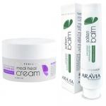 """Фото Aravia Professional -  Регенерирующий крем от трещин с маслом лаванды """"Medi Heal Cream"""", 150 мл + Смягчающий бальзам для ног с эфирными маслами """"Soft Balm"""", 100 мл"""