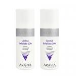 Фото Aravia Professional -  Пилинг с молочной кислотой Lactica Exfoliate, 2х150 мл