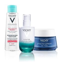 Фото Vichy - Набор: SLOW AGE очищение для нормальной и комбинированной кожи с первыми признаками старения, 1 шт