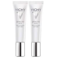 Vichy - Комплект: ЛифтАктив Дерморесурс крем для контура глаз, 2 шт. по 15 мл, 1 шт