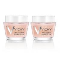 """Vichy - Комплект: Минеральная маска-пилинг """"Двойное сияние"""", 2 шт. по 75 мл, 1 шт"""