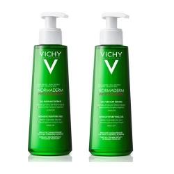 Фото Vichy - Комплект: Нормадерм Фитосолюшн Очищающий гель для умывания, 2 шт. по 200 мл, 1 шт