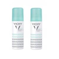 Vichy - Комплект: Дезодорант аэрозоль регулирующий избыточное потоотделение 24 часа,2 шт. по 125 мл, 1 шт