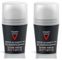 Vichy - Комплект: Дезодорант - шарик 48 часов для чувствительной кожи, 2 шт. по 50 мл, 1 шт