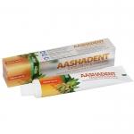 Фото Aasha Herbals Aashadent - Зубная паста, кардамон-имбирь, 100 мл