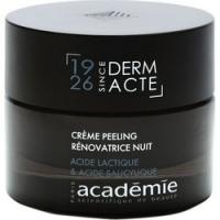 Academie Creme Peeling Renovatrice Nuit - Ночной обновляющий крем-эксфолиант, 50 мл
