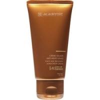 Купить Academie Creme solaire SPF 40+ - Солнцезащитный регенерирующий крем для лица, 50 мл