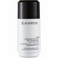 Купить Academie Deodorant Roll-On Anti-Transpirant Post-Epilation - Дезодорант антиперспирант после эпиляции, 50 мл