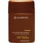 Academie Stick Solaire Zones Sensibles SPF 50+ - Защитный карандаш для чувствительных зон, 10 мл