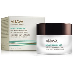 Фото Ahava Beauty Before Age Uplift Night Cream - Ночной крем для подтяжки кожи лица, шеи и зоны декольте, 50 мл