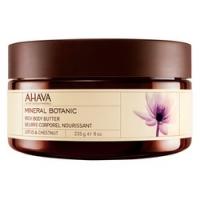 Ahava Mineral Botanic Rich Body Butter Lotus & Chestnut - Насыщенное масло для тела, лотос и благородный каштан, 235 гр