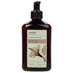 Фото Ahava Mineral Botanic Velvet Body Lotion Hibiscus & Figa - Бархатистый крем для тела, гибискус и инжир, 400 мл