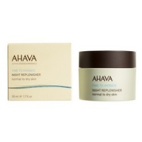 Ahava Time To Hydrate Night Replenisher - Ночной восстанавливающий крем для нормальной и сухой кожи, 50 мл