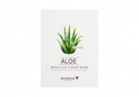 Купить Skinfood Beauty in a Food Mask Sheet Aloe - Маска для лица тканевая с экстрактом алоэ, 18 мл