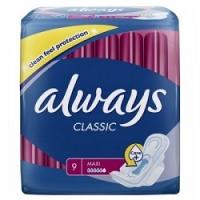 Купить Always Night Single - Прокладки гигиенические, 9 шт