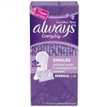 Фото Always Normal Single - Прокладки гигиенические ежедневные в индивидуальной упаковке, 20 шт
