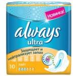 Фото Always Ultra Light - Прокладки гигиенические, 10 шт