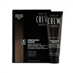Фото American Crew Precision Blend - Краска для седых волос натуральный оттенок 4-5, 3*40 мл