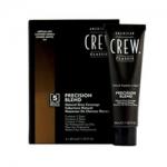Фото American Crew Precision Blend - Краска для седых волос пепельный оттенок 5-6, 3*40 мл