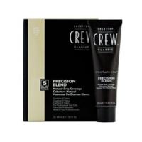 American Crew Precision Blend - Краска для седых волос светлый оттенок 7-8, 3*40 мл