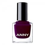 Фото ANNY Cosmetics Colors Miss Burgundy - Лак для ногтей, тон 45, 15 мл.