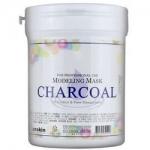Фото Anskin Charcoal Modeling Mask - Маска альгинатная для жирной кожи с расширенными порами, 700 мл