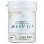 Фото Anskin Grean Tea Modeling Mask - Маска альгинатная с экстрактом зеленого чая, 700 мл