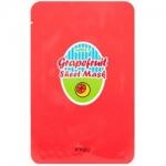 Фото Apieu Grapefruit & Sparkling Sheet Mask - Маска для лица тканевая с экстрактом грейпфрута и кислородной водой, 23 мл