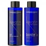 Фото Assistant Professional Oil And Booster - Кератиновые филлеры для глубокого восстановления волос без пигмента, 2*150 мл