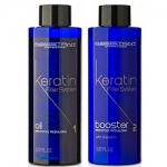 Фото Assistant Professional Oil And Booster - Кератиновые филлеры для глубокого восстановления волос без пигмента, 2*150 мл
