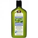 Avalon Organics Peppermint Strengthening Shampoo - Шампунь Мята, 325 мл