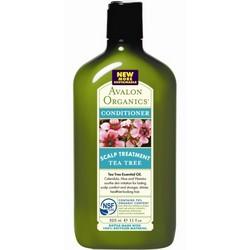 Avalon Organics Tea Tree Scalp Treatment Conditioner - Кондиционер, Чайное дерево, 325 мл