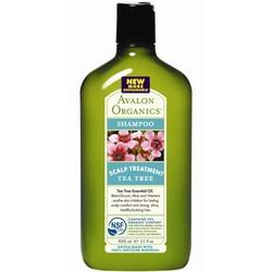 Avalon Organics Tea Tree Scalp Treatment Shampoo - Шампунь, Чайное дерево, 325 мл