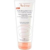 Купить Avene Fluide Demaquillant 3 in 1 - Флюид для снятия макияжа 3 в 1, 200 мл